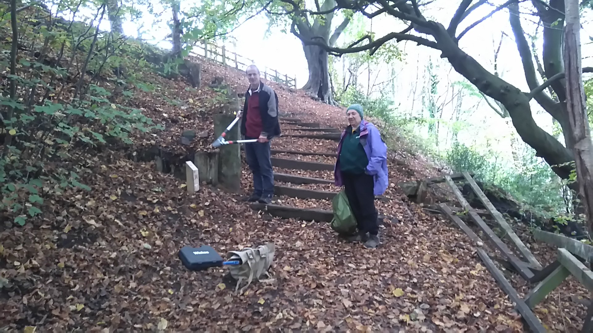 Kersal Dale Permanent Orienteering course renovation